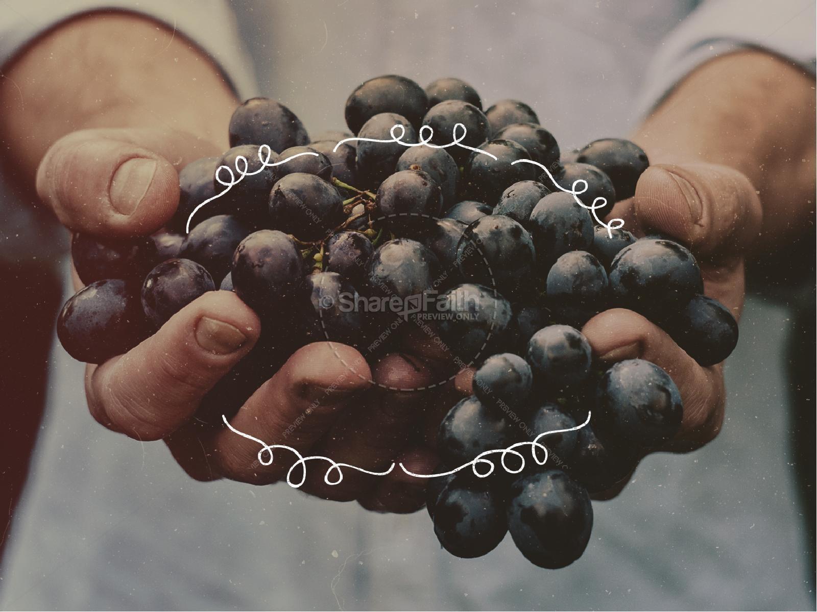 The Fruit of the Spirit Religious PowerPoint | slide 6