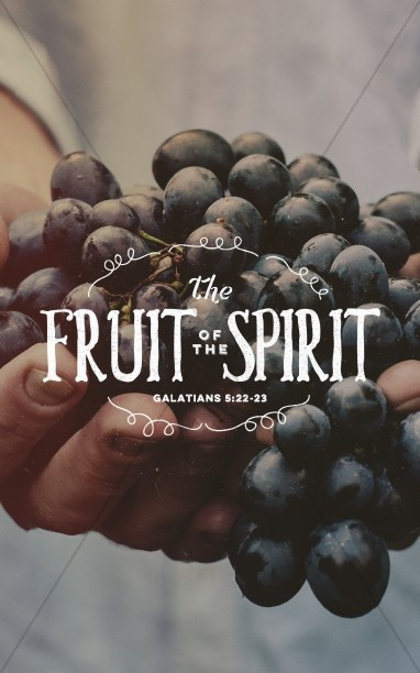 The Fruit of the Spirit Religious Bulletin