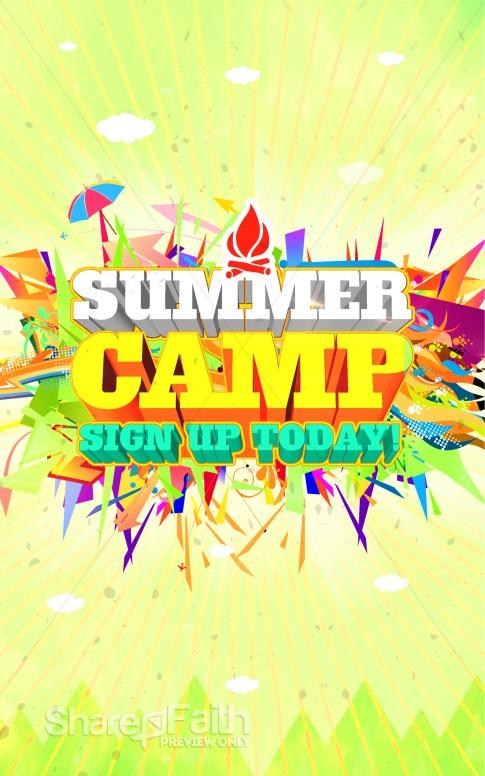 summer camp ministry bulletin