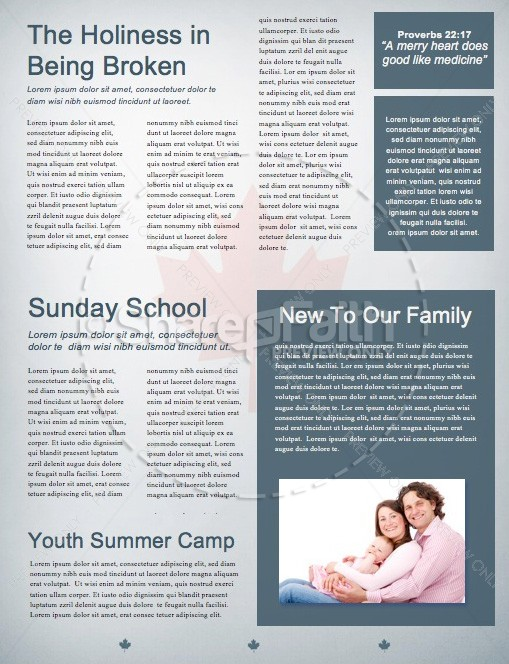 Canada Day Church Newsletter