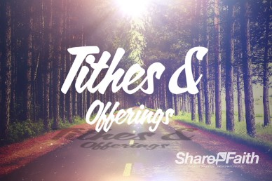 I Have Decided Tithes and Offerings Video Loop