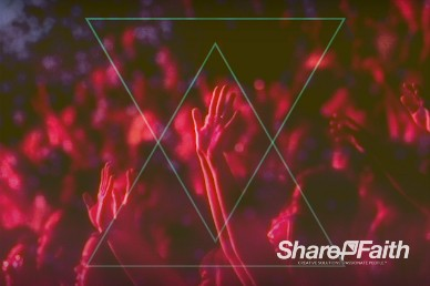 Night of Worship Church Background Video Loop