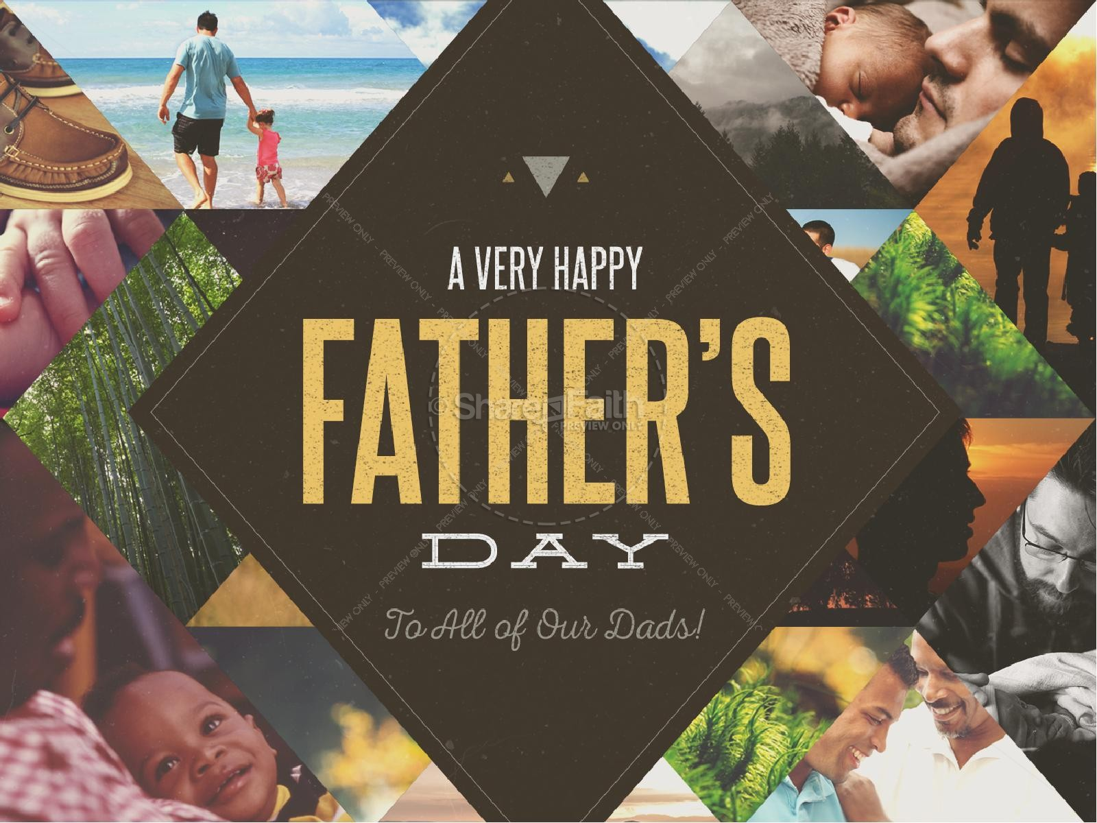 Happy Father's Day All Dads Christian PowerPoint