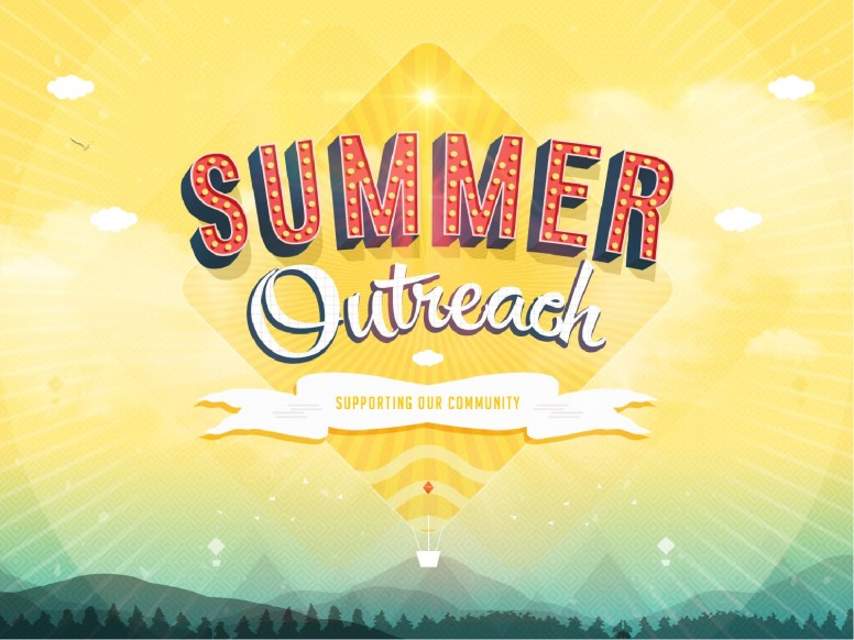 Summer Outreach Support the Community Ministry PowerPoint