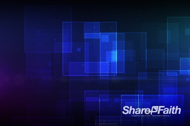 May Worship Abstract Religious Geometric Blue Worship Video Background