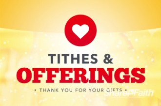You Are Welcome Religious Tithes And Offerings Video Loop Church