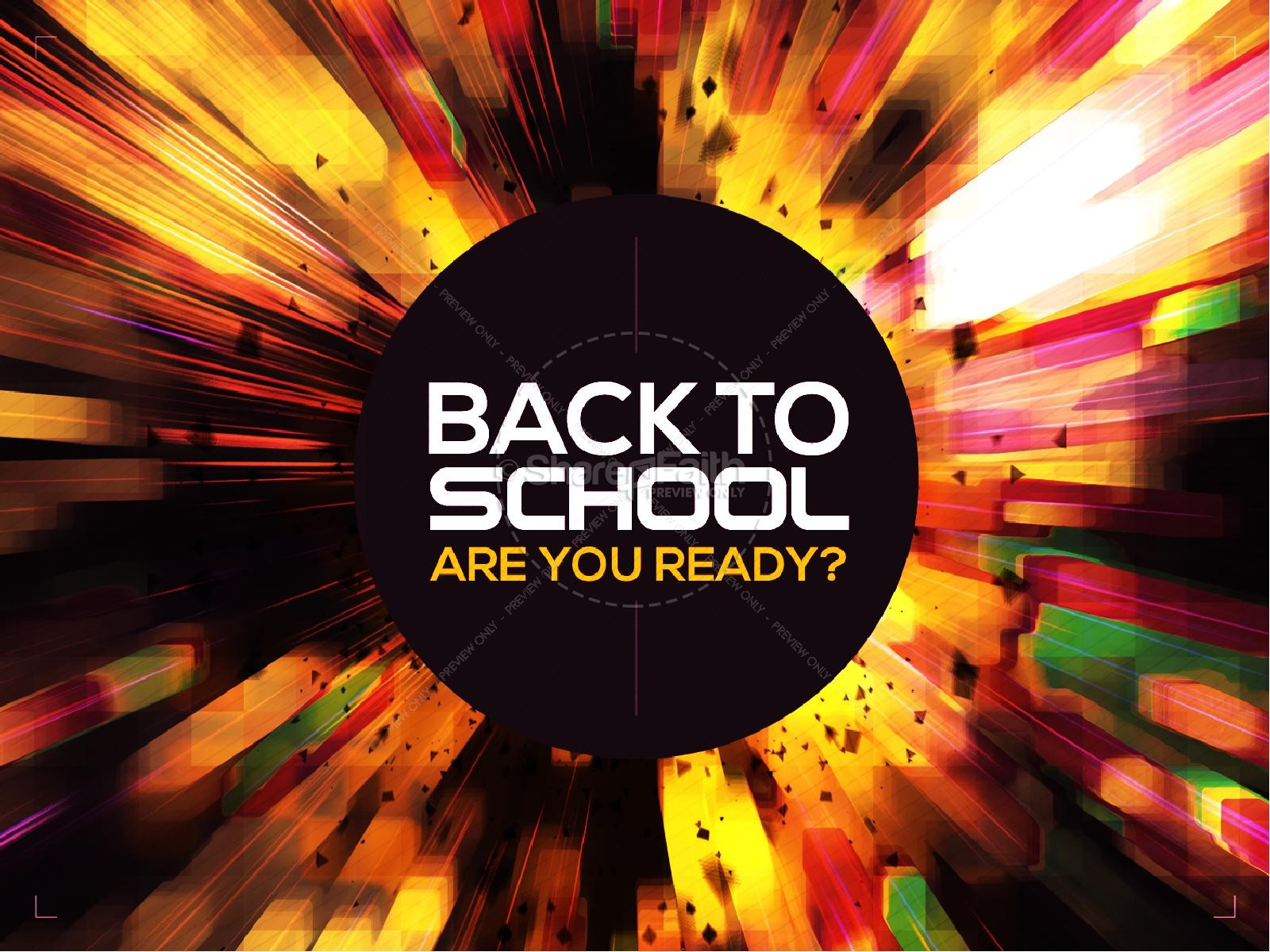 back to school power christian powerpoint template back to school