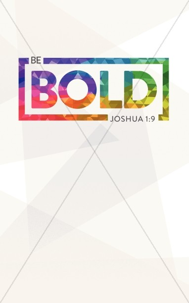 Be Bold Christian Bulletin