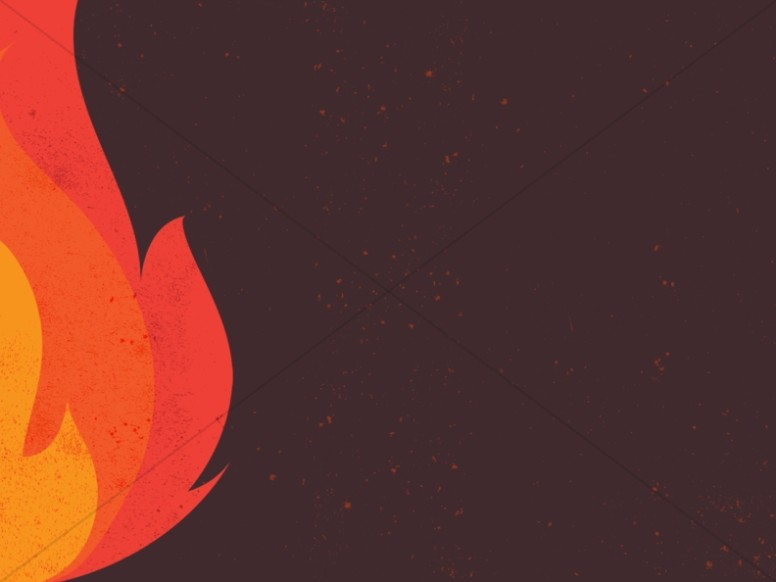 Bonfire Ministry Background Graphic