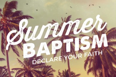 Summer Baptism Ministry Title Video Loop