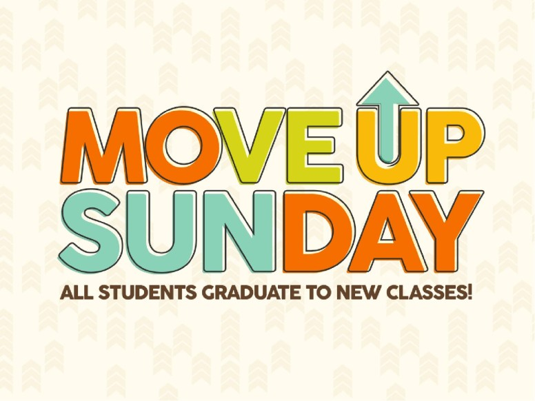 Move Up Sunday Church PowerPoint