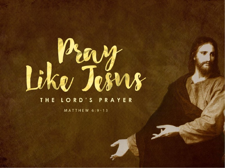 Pray Like Jesus Ministry PowerPoint