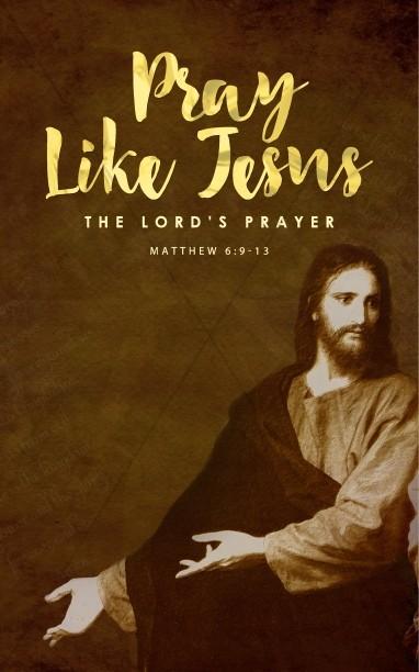 Pray Like Jesus Ministry Bulletin