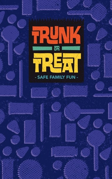 Trunk or Treat Fall Ministry Bulletin