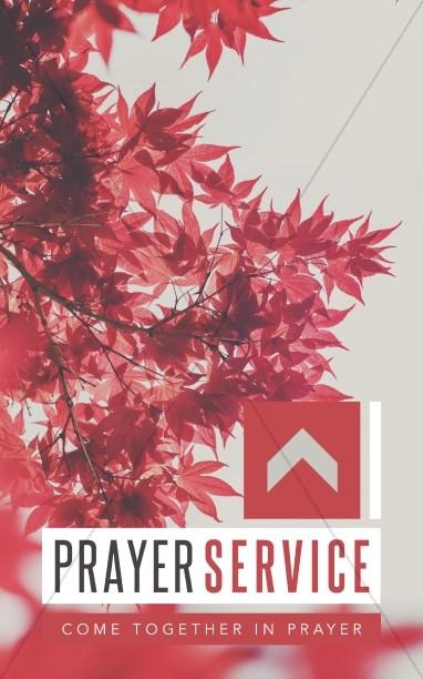 Prayer Service Ministry Bulletin