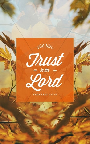 Trust in the Lord Ministry Church Bulletin