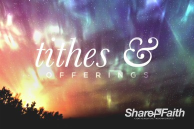 Beautiful Things Christian Tithes and Offerings Video