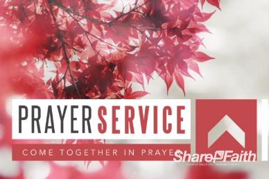 Prayer Service Ministry Intro Video Background