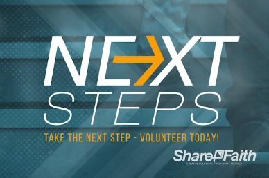 Next Steps Volunteer Religious Video Loop