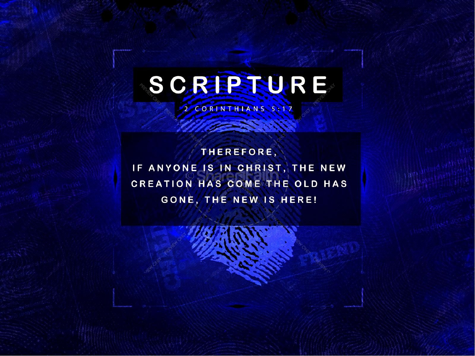 Identity in Christ Christian PowerPoint