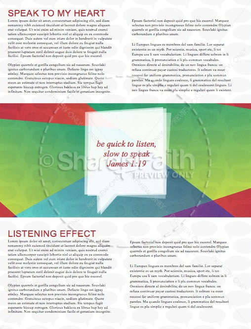 Conversations with God Christian Newsletter | page 2