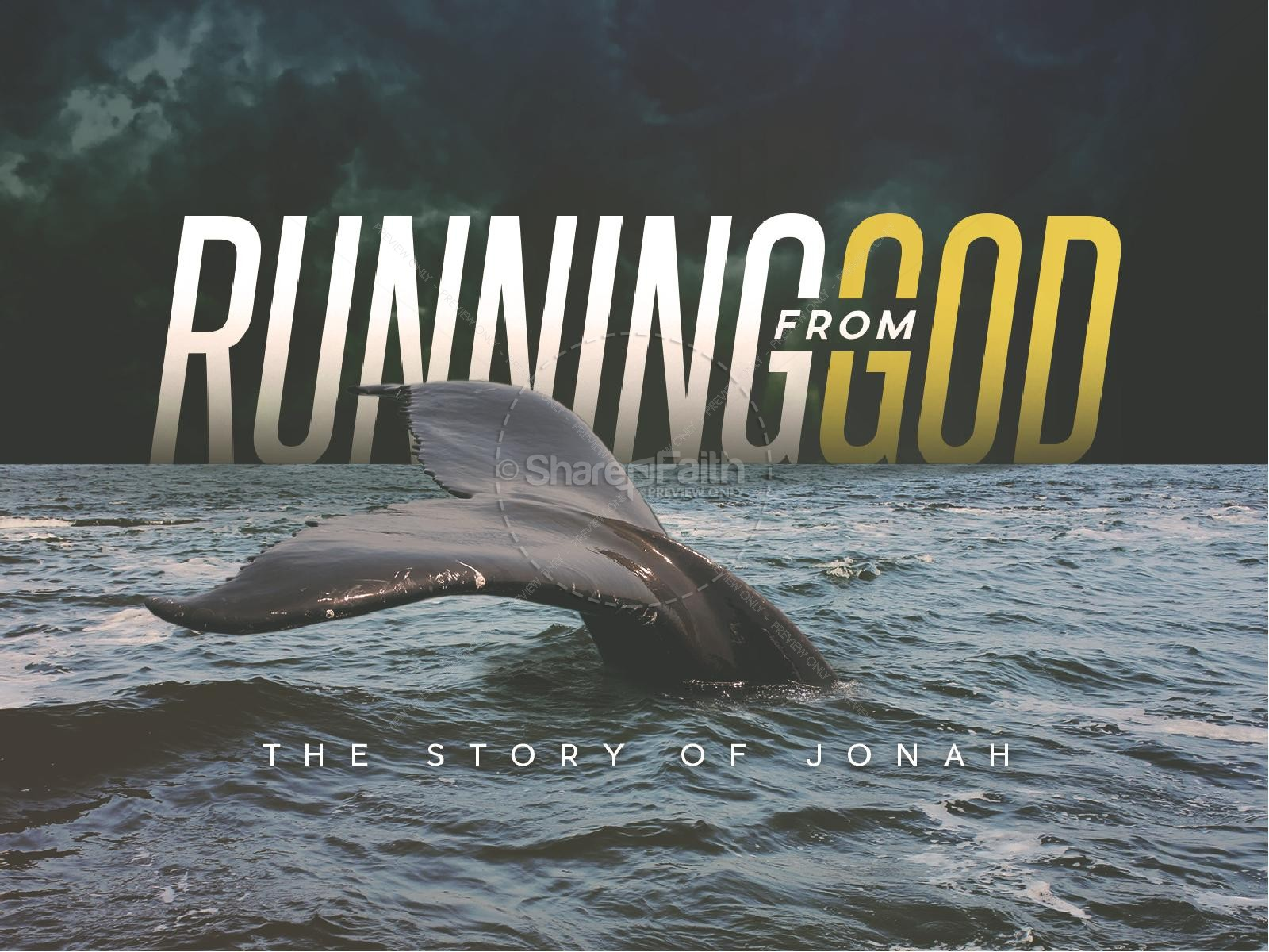 Running From God Church PowerPoint
