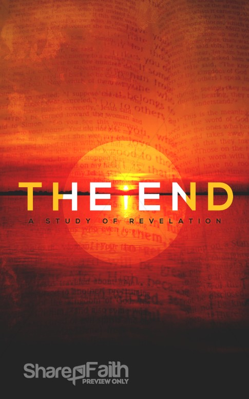 The End Study Of Revelation Religious Bulletin Sermon