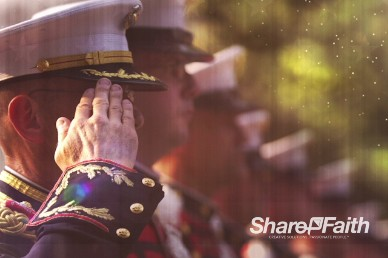 Veteran's Day Salute Religious Worship Video