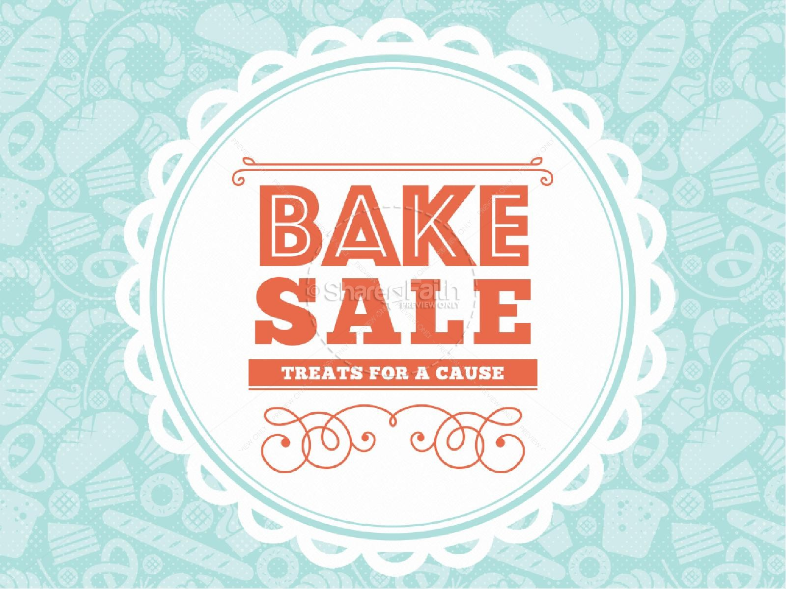 Bake Sale Church PowerPoint Template