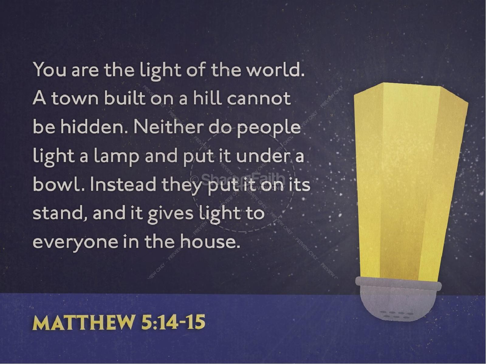 Salt and Light Religious PowerPoint