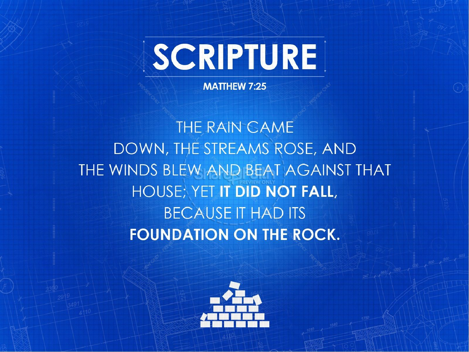 Foundations Ministry PowerPoint