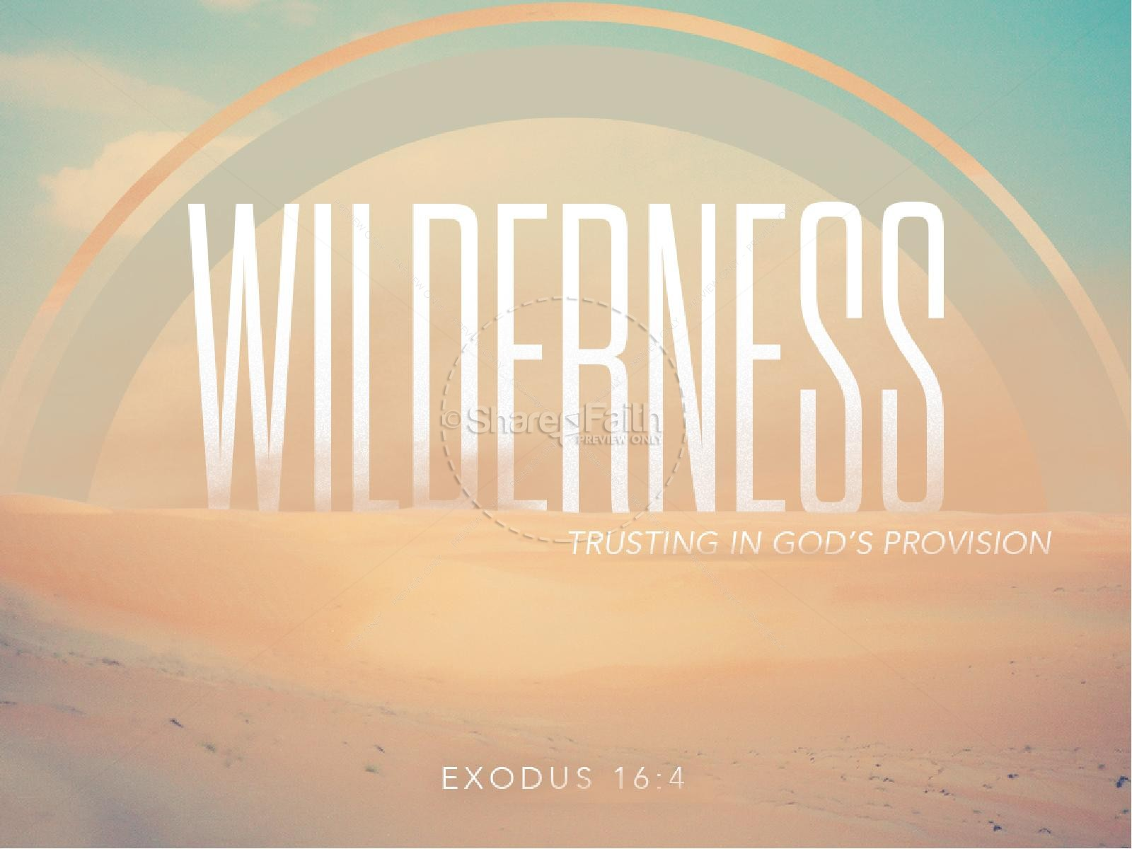 Wilderness Ministry PowerPoint