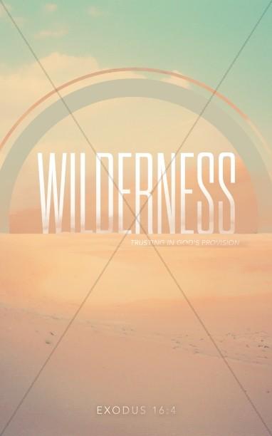 Wilderness Ministry Bulletin