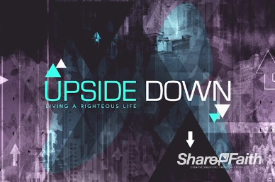 Upside Down Christian Title Video