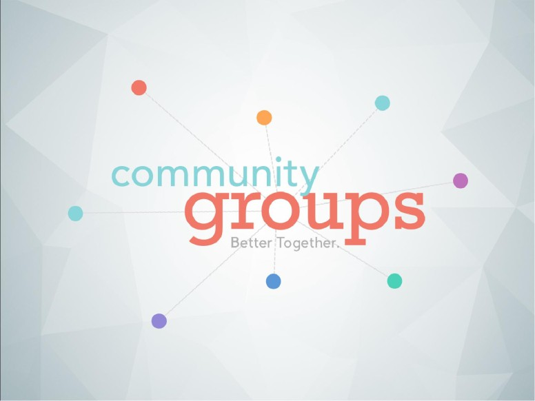 Community Groups Ministry PowerPoint