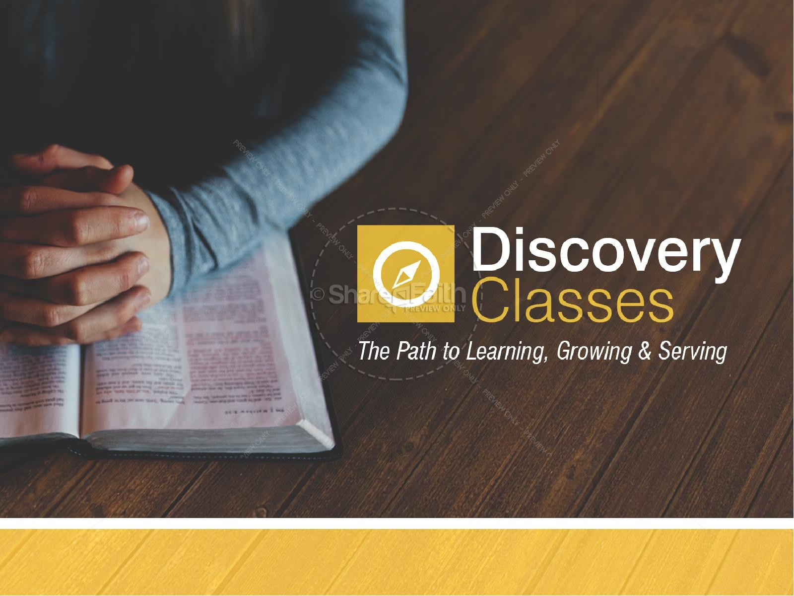 Discovery Classes Ministry PowerPoint