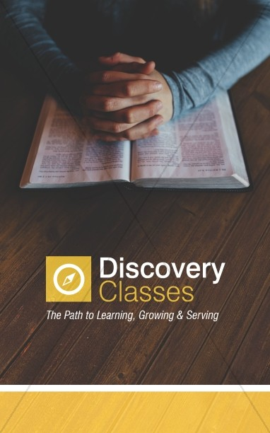 Discovery Classes Ministry Bulletin