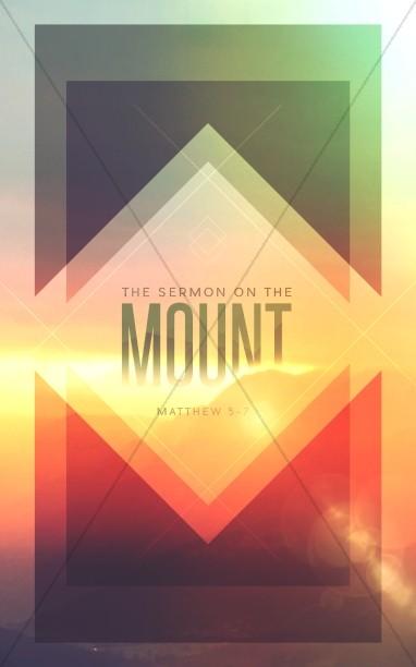 Sermon on the Mount Ministry Bulletin