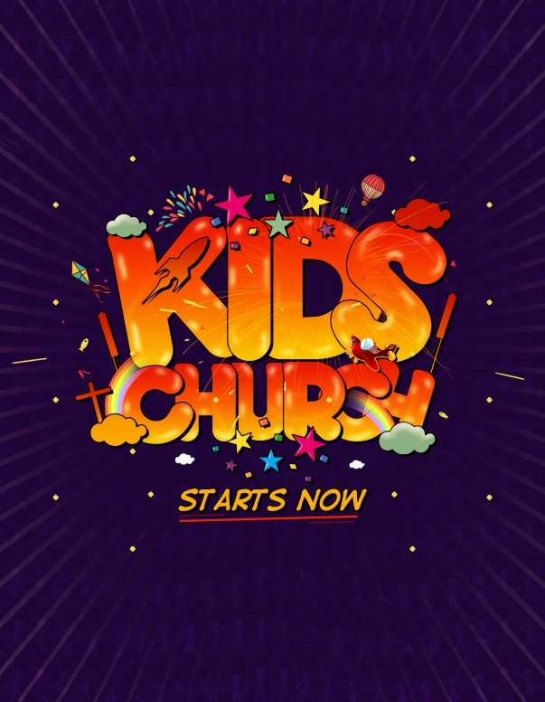 Kids Church Starts Now Ministry Media Graphics