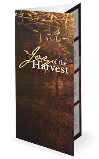 Joy of Harvest Ministry Trifiold Bulletin