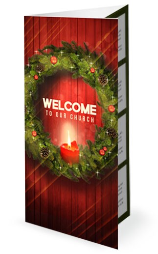 Let Your Light Shine Christmas Religious Trifold Bulletin