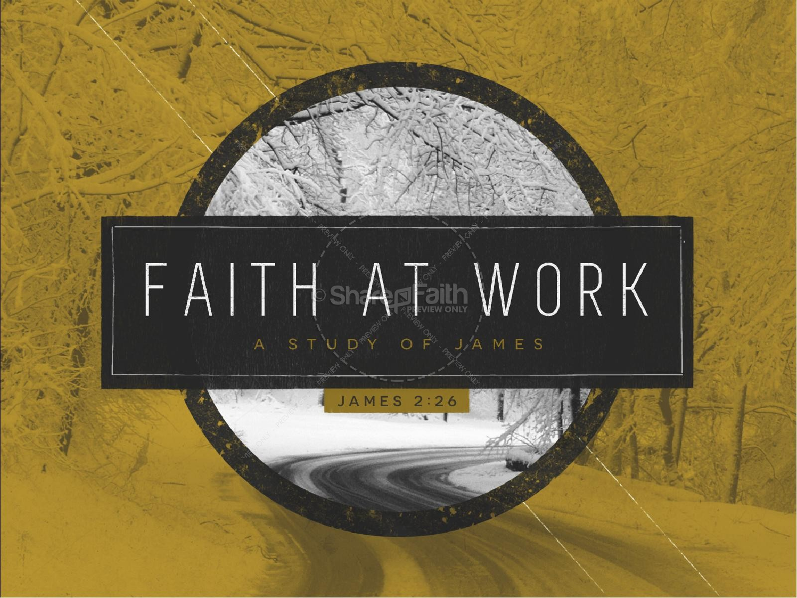 Faith at Work Christian PowerPoint