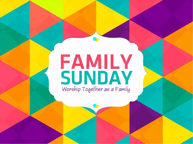 Family Sunday Worship PowerPoint