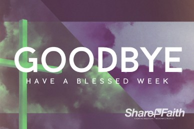 The Big Picture Missions Ministry Goodbye Video