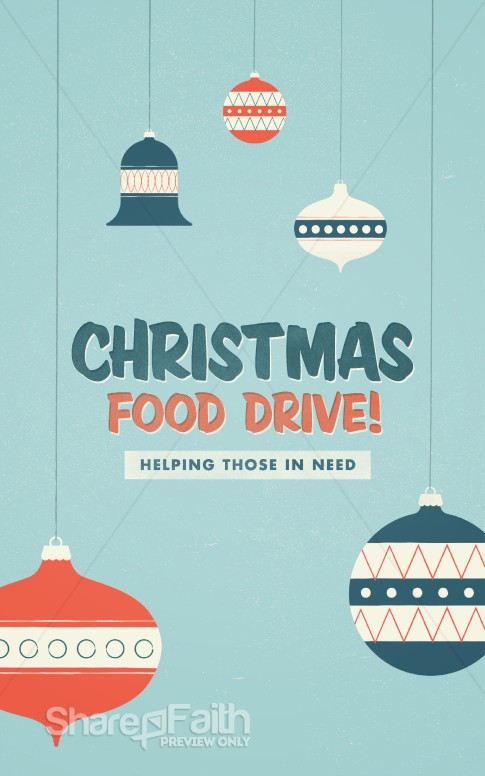 christmas food drive - photo #10