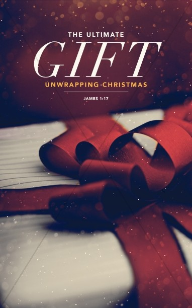 The Ultimate Gift Christmas Holiday Bulletin