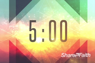 Sermon on the Mount Ministry Five Minute Countdown Video