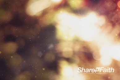 Joy to the World Christmas Worship Background Video