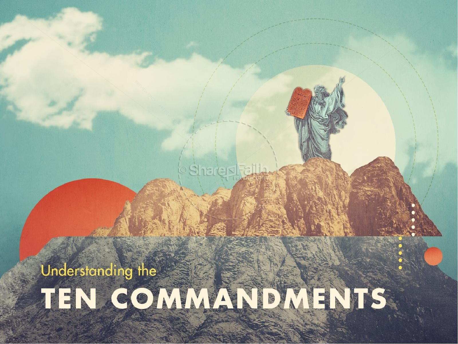 Understanding the Ten Commandments Ministry PowerPoint