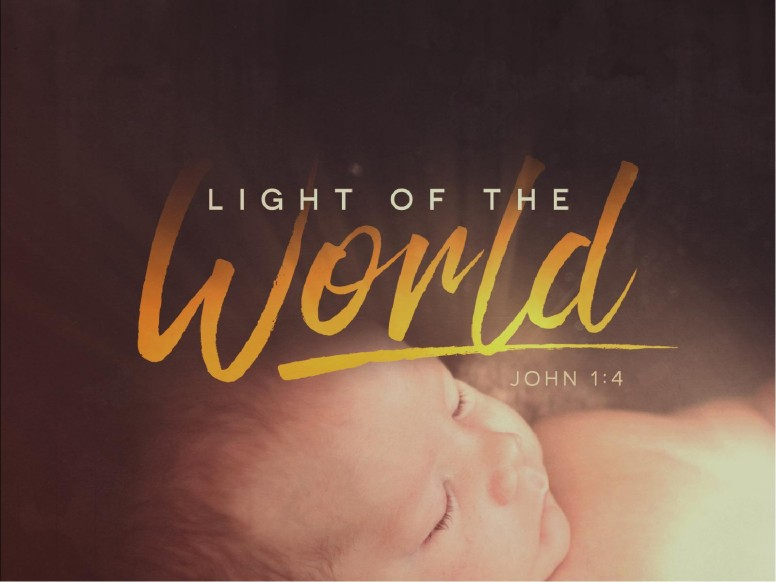 Light of the World Christmas Sermon PowerPoint